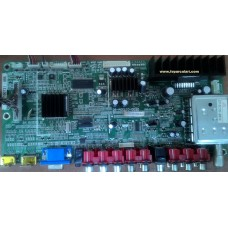 28-A00110-0020, S909100721-055, L37K609100721-0088, T370HW02 V.B, GENERAL G37N8 LCD TV MAIN BOARD