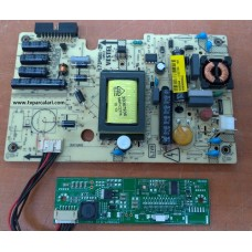 17IPS61-2P, 2383645, 17CON07-3, V236BJ1-LE1, PHILIPS 24PFL2908H/12 LED TV, POWER BOARD