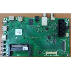 ZNS190R-6, KJ5FZZ, 057D43A25P, GRUNDIG 43 VLE 5537 BG, LED TV MAIN BOARD