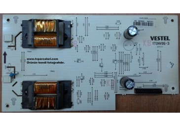 17INV06-3, 23022894, VESTEL LCD TV INVERTER BOARD