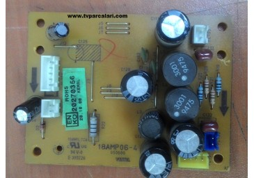 18AMP06-4, VESTEL LCD TV SES KARTI (AUDİO BOARD)