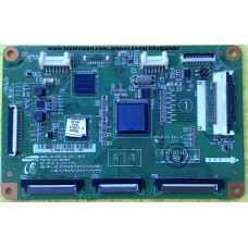 LJ41-09390A, LJ92-01753A, LJ92-01756A, 500DF/DS LOGIC MAIN, SAMSUNG PS51D550C1W PLAZMA TV CTRL BOARD