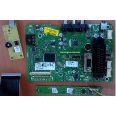 17MB48-1.1, 23034214, SDIAP06, LTA320AP06, VESTEL, SEG, TECWOD, LCD TV MAIN BOARD