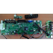 T.MS6M181.1B 11223, LC320WUN SCB1, ORA 111D-SU, LCD TV, MAİN BOARD